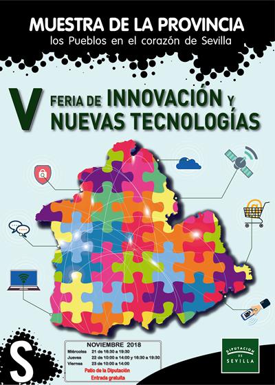 Jornada WD en la V Feria de la Innovación y las Nuevas Tecnologías de INPRO – 23 de noviembre de 2018, Sevilla