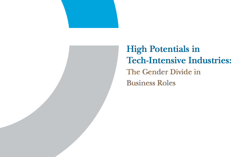 High Potentials in Tech-Intensive Industries, the Gender Divide in Business Roles
